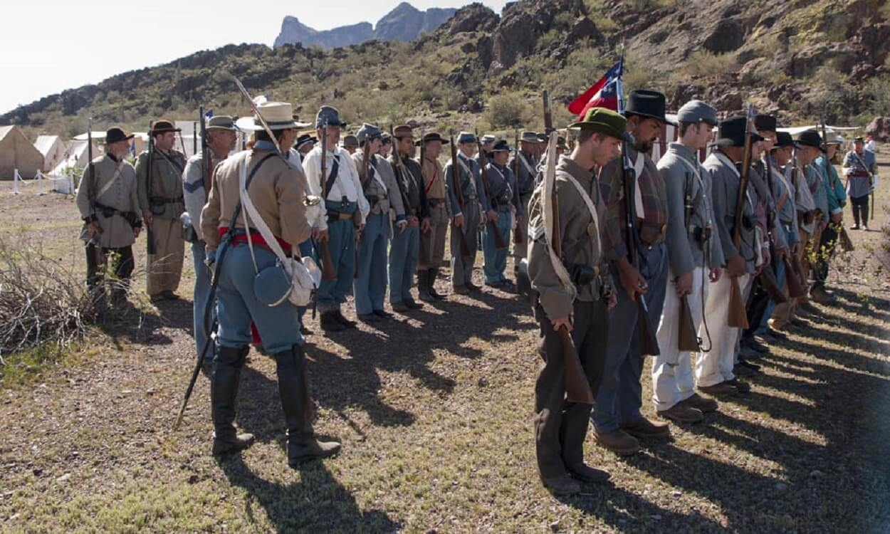 """Civil War in the Southwest"" at Picacho Peak State Park March 18 & 19"