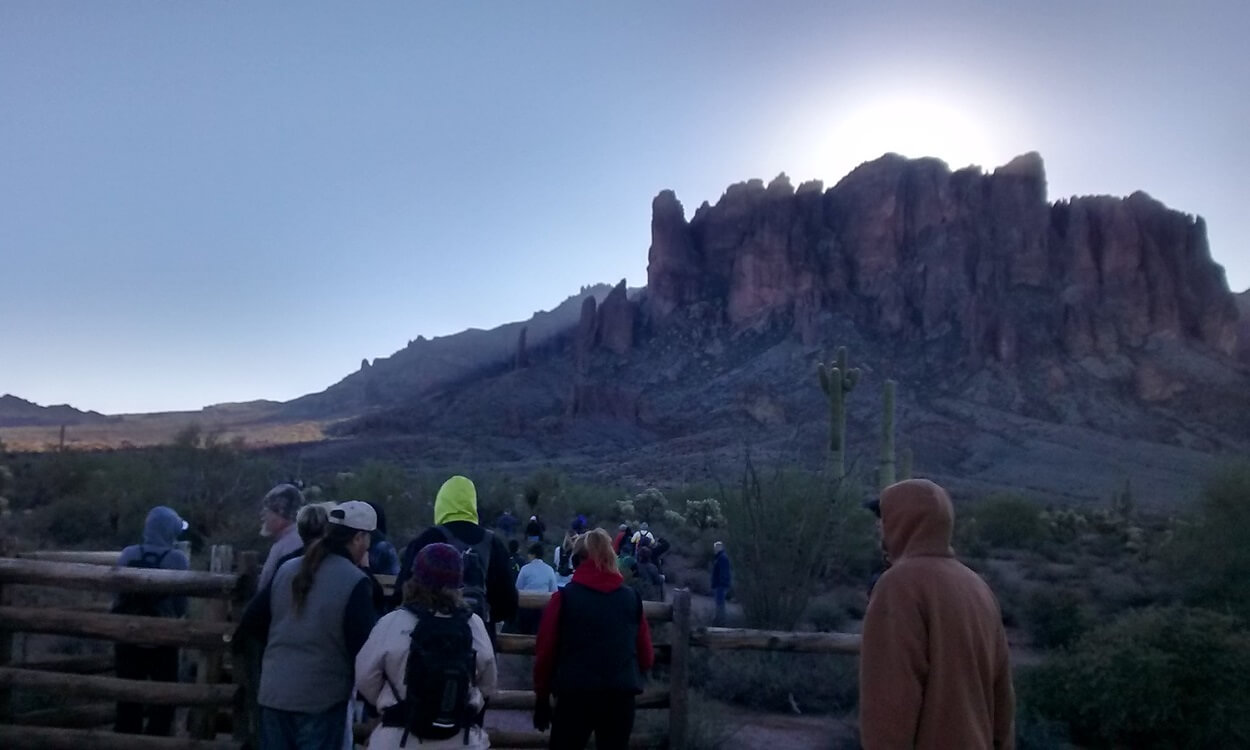 60 First Day Hikes throughout Arizona on January 1