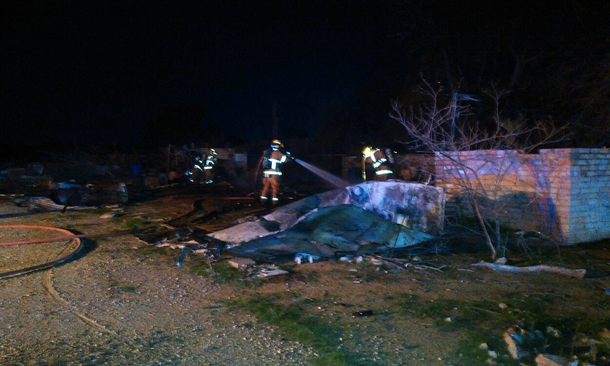 Another Suspicious Fire in San Tan Valley