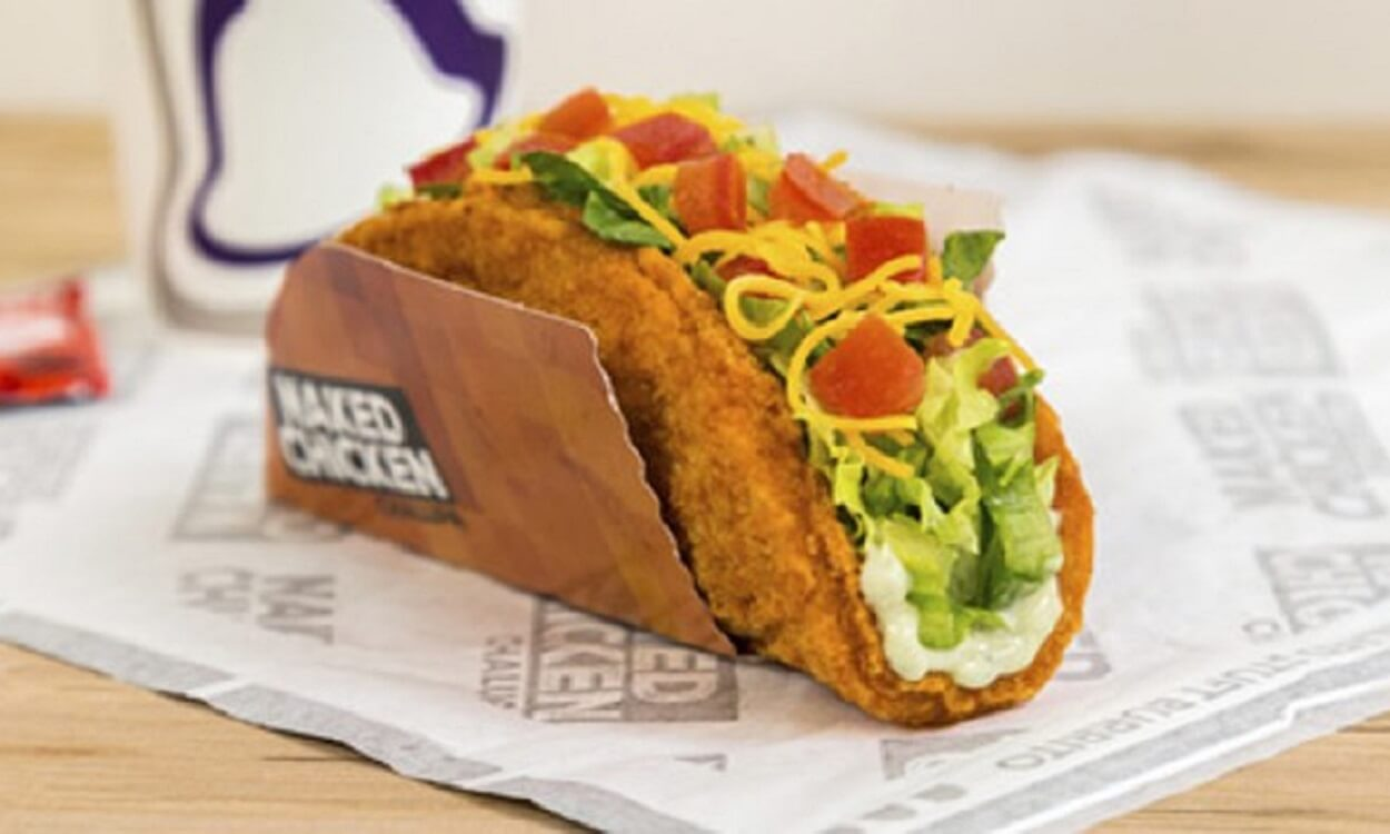 Taco Bell is going national with fried chicken taco shell