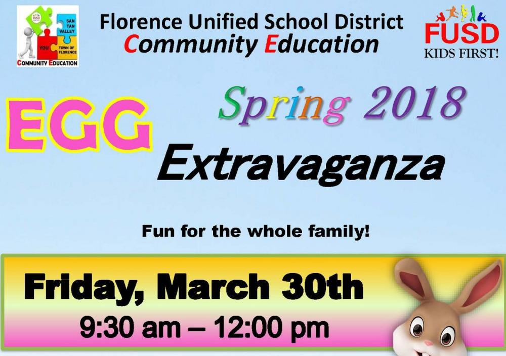 Spring 2018 Egg Extravaganza