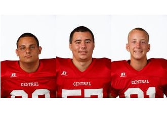 Local athletes to play football at Central College
