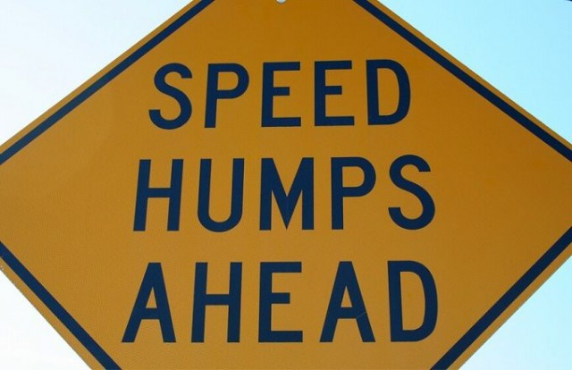 speedhumps