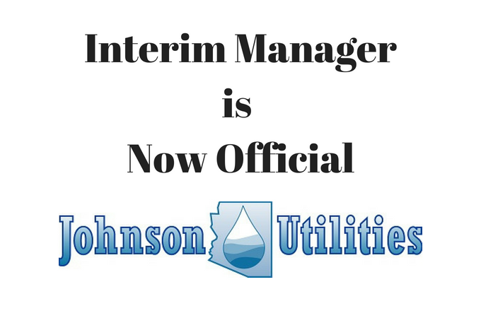 The Interim Manager is Now Official