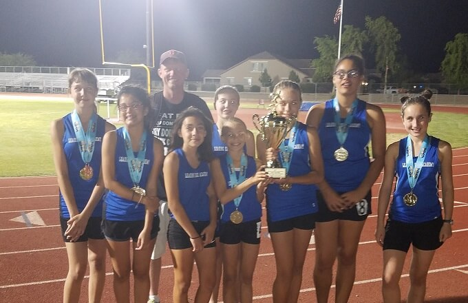 Leading Edge Academy San Tan Earns 3rd Place in State Track Meet