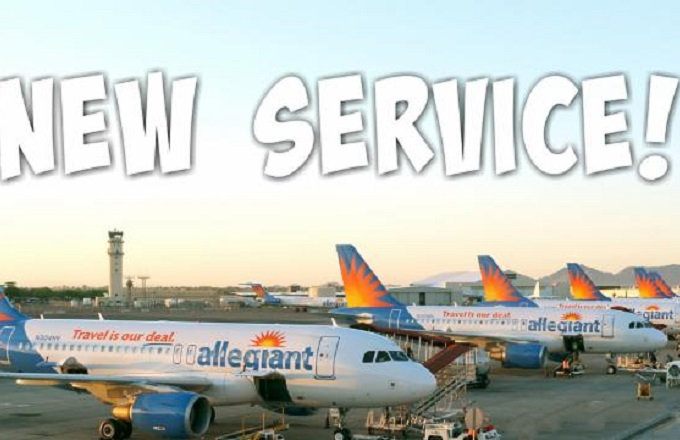 Allegiant announces new nonstop service to eight new destinations