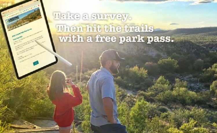 Arizona State Parks and Trails Opens Survey for 2020 Statewide Motorized and Non-Motorized Trails Plan