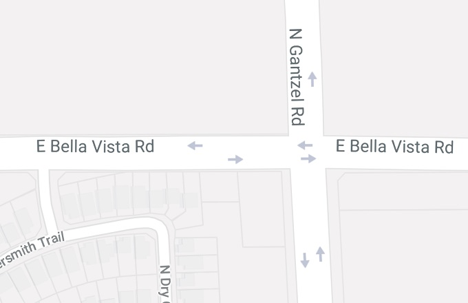 Fatal Accident at Bella Vista and Gantzel