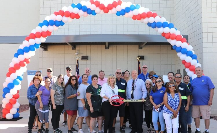 J.O. Combs Unified School District Hosts Ribbon Cutting for New Transportation Warehouse