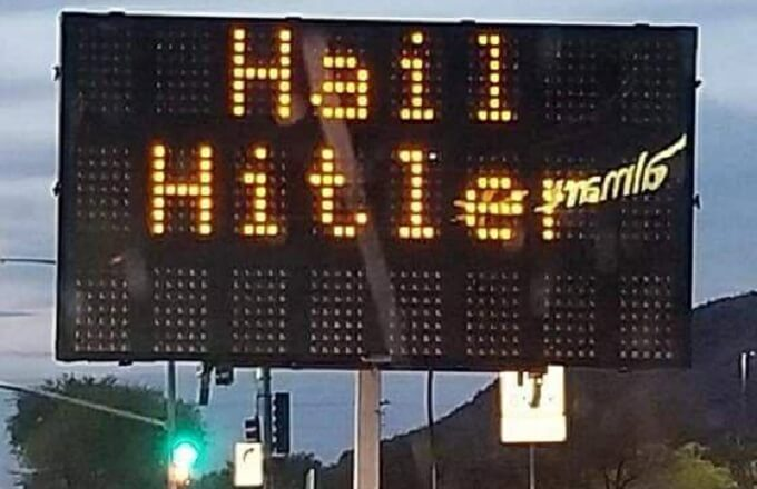 Road Construction Sign has New Message in San Tan Valley