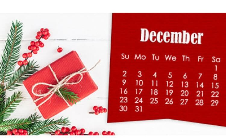 Holiday mailing deadlines are fast approaching