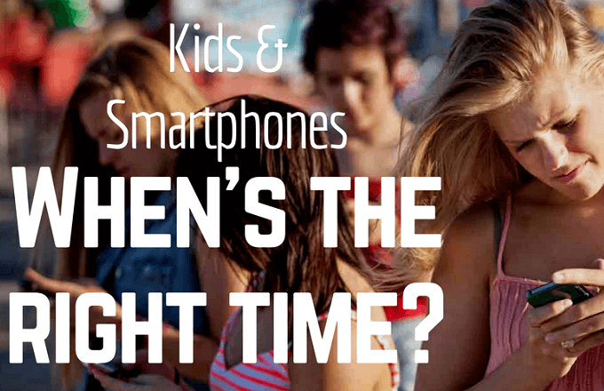 Moms launch campaign to delay giving kids a smartphone