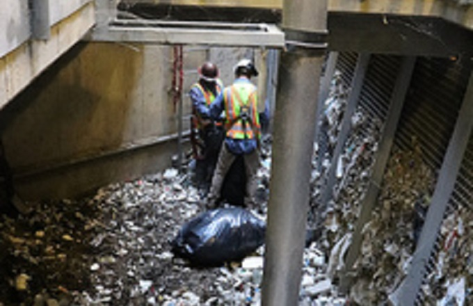 Monsoon Mess: Litter can hinder freeway drainage systems