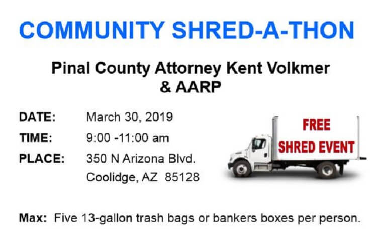 Community Shred-A-Thon