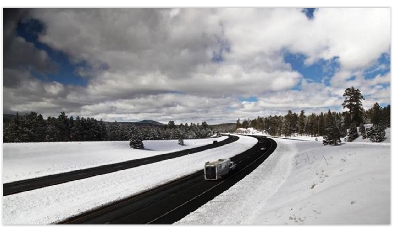ADOT and its plows are prepared for winter weather. Are you?
