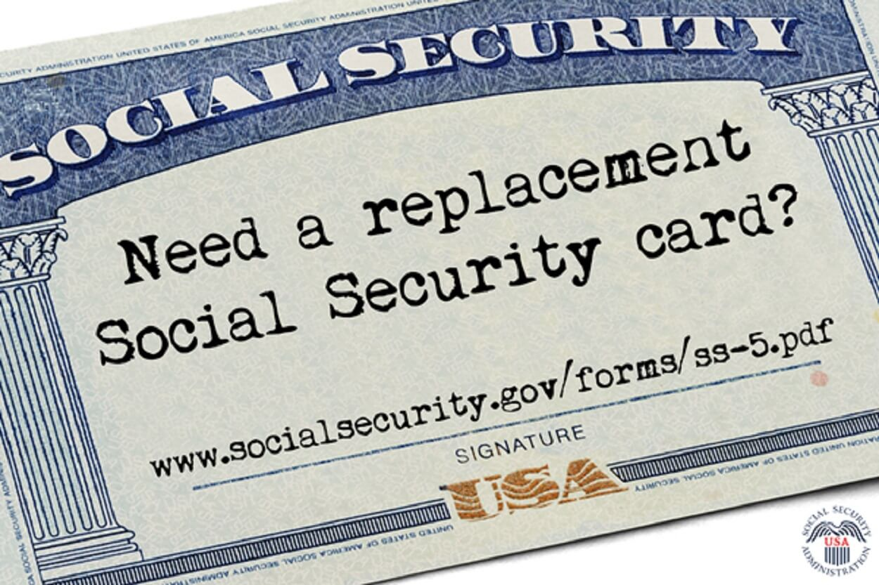 How can i print my social security card online