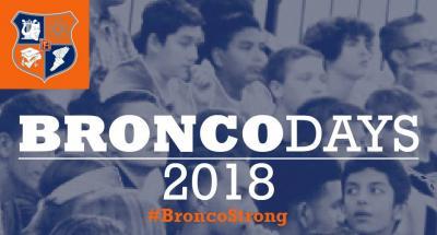 Bronco Days (Sophomore & Freshman)