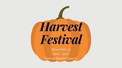 3rd Annual Harvest Festival