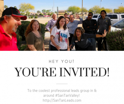 San Tan Leads After Hour Mixer