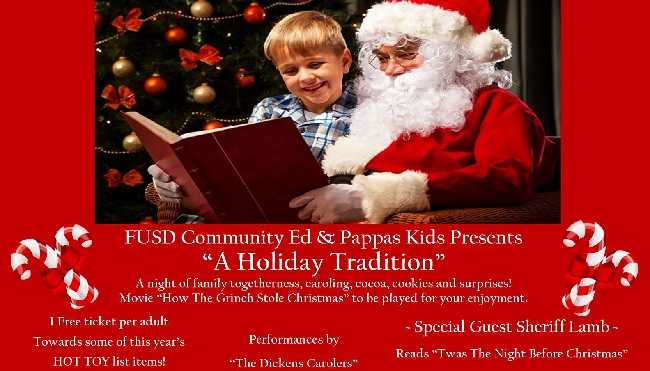 Pappas Kids & FUSD Community Ed Presents